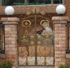 Wrought Iron Entry Gate{HB-D077}