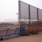 Steel Windbreak and Dust Suppression System