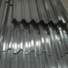 Galvanized corrugated steel plate
