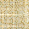 colorful crystal glass mosaic