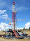 Land and shallow water oil well drilling rig