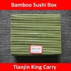 light green color bamboo sushi box