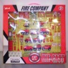 Metal fire truck group mini toy car