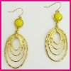 Newest Fashion Metal Punk Hoop Earring, Earrings Findings, China Accessories Supplier, RE144194-1