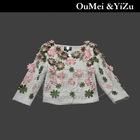 Europe Stylish brand designer korea fashion short coat