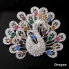 fashion rhinestone brooch