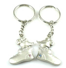 fashion alloy mouse with shoe lover couple key chain(K100050)