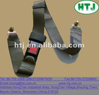 Grey strong safety belt for car