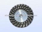 "4""-7"" Double Row Turbo Diamond Grinding Cup Wheel"