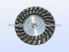 "4""-7"" Double Row Turbo Diamond Grinding Cup Wheel"