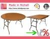 Wood Folding Restaurant Table