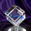 3d laser crystal block cube,crystal 3d laser craft,crystal biz gift