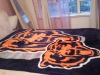 100% Polyester Raschel Reactive Printed Blanket