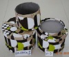 round cardboard storage boxes with lids