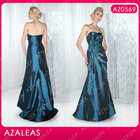 AZ0569 Handmade Flower Sweetheart Ruffle Floor-length Taffeta vintage mother of the bride dresses