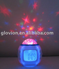LCD Alarm Clock-with Starry Sky Projection