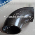 carbon steel large diameter elbow