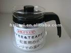 heat resistant glass coffee pot/tea pot