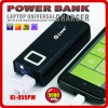 5000mah Multi-Function protable Power Bank for iPhone and mobile phone