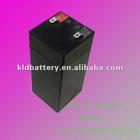 Storage valve regulated sealed lead acid battery 4v4ah