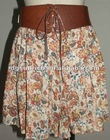 2012 fashion printed skirt