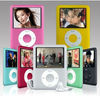 Slim and colorful mp3 player for gift