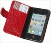 New leather case for iphone 4g