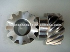 european standard Helical Gear S45C