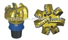 Four blades matrix body PDC drill bit for drilling