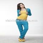 fashionale washed lady apparel harem pants