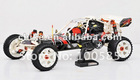 26cc RC CAR/Remote control car/Baja+Walbro Carb+NGK Spark plug+Silence box+2.4G+Nylon Version - Free Shipping