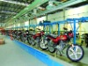 motorcycle assembly line