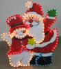 acrylic light motif & chrismas gift
