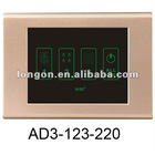 3 Lines Office Light Linked Control Touch Screen Switch
