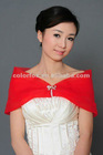 Hot Sale Elgeant Designer Red Pageant Party Shrug for Girls
