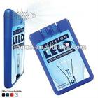 15ml 20ml 25ml credit card shape hand sanitizer spray