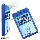 15ml 20ml 25ml credit card shape hand sanitizer spray