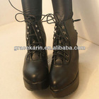 Korean Ladies Platform Flat Boots SH56