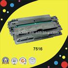 Brand new 7516a 16a toner cartridge for hp printer 5200 5200LBK compaible hp printer cartridge 16a