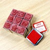 Wooden Stamp Set toy