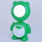 cartoon rechargeable LED lamp with a mirror
