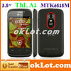 "New Arrival Original ThL A1 MTK6515M 3.5""TFT IPS Android 4.0 OS 256MB RAM 512MB ROM dual sim cellphone"