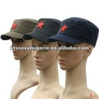 SG088 chinese red Army hat with Five-pointed star