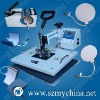 6 in 1 sublimation heat press machine