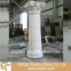 Carved Granite Column