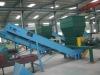 waste scrap recycling belt conveyor