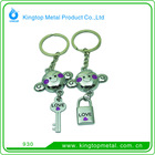 2012 Kingtop Hot Couple Models Key Chain Metal