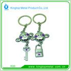 2012 Kingtop Hot Couple Models Key Chain Metal