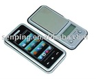 AS832A Digital mini jewelry scale with mobile phone shape