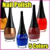 269 Fast Shipping Wholesales Price 5 Colors Nail Art Nail Polish
